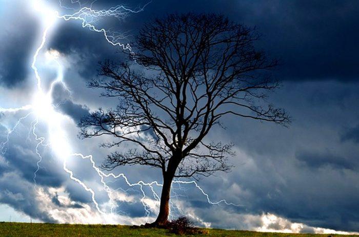 Клад и молния