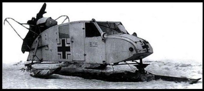 Аэросани Henschel