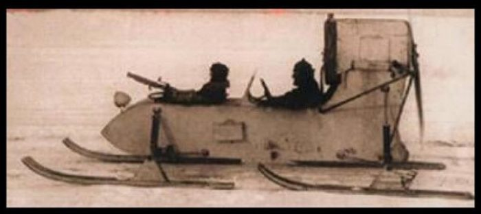 Аэросани РФ-8