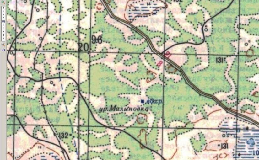 карта генштаба