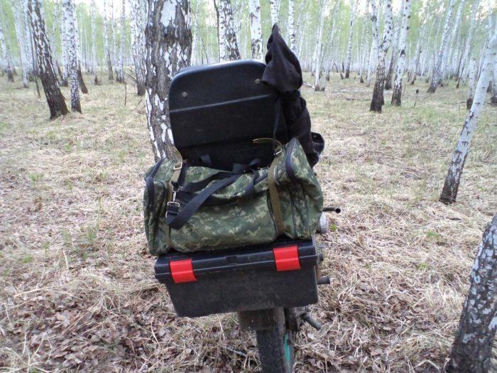 Самодельный багажник на Урал
