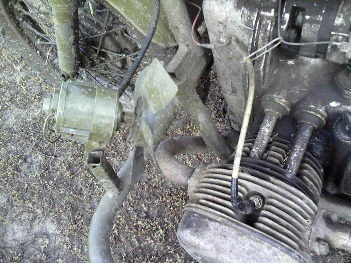 Принудительное охлаждение двигателя на Урал