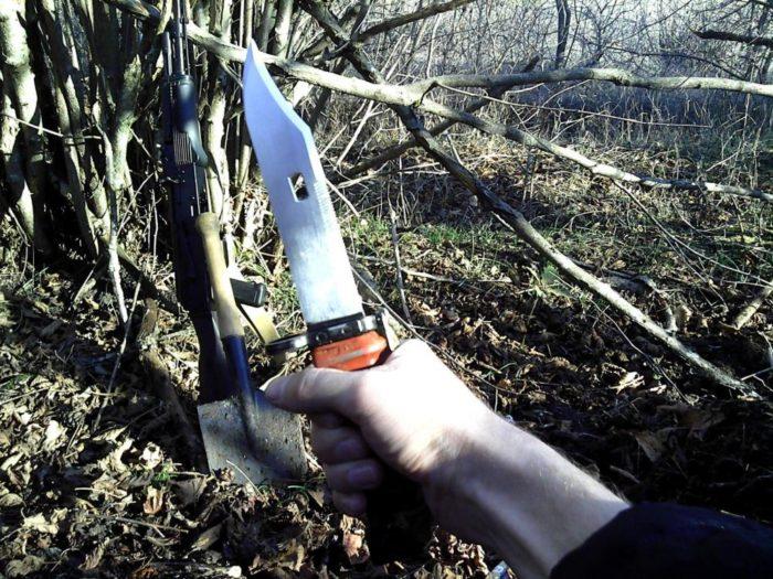 Штык-нож, МПЛ, автомат