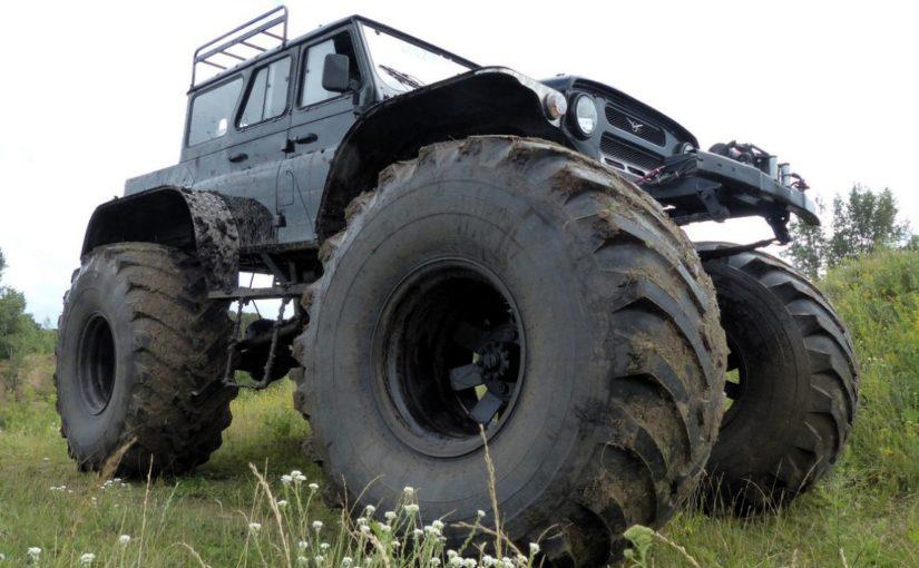 Уаз на шинах низкого давления