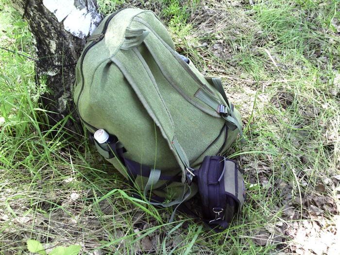 Рюкзак для кладоискателя