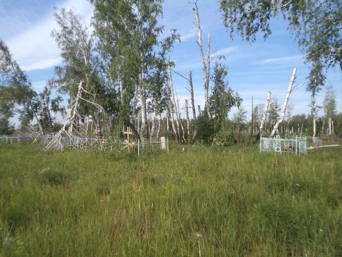 заброшенное сельское кладбище