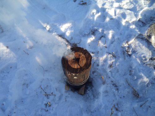 Финская или таежная свеча