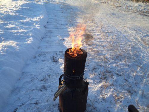 Скандинавская свеча