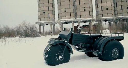 Снегоболотоход Шограш 3x3