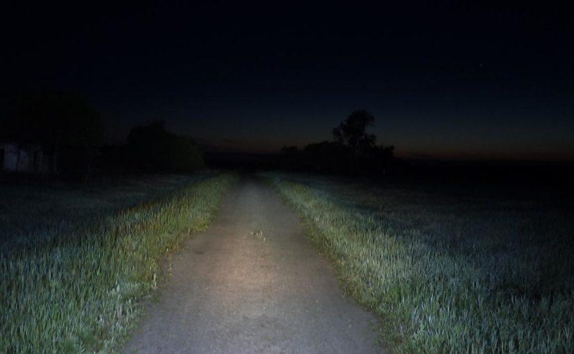 Дорога в темноте