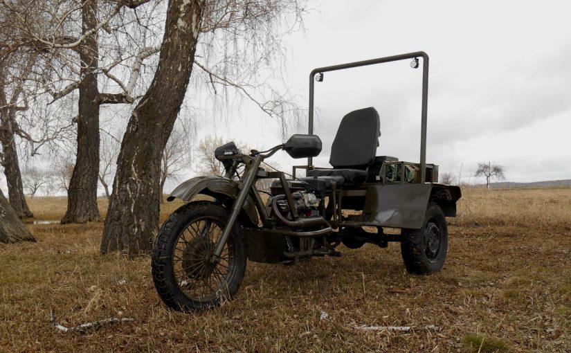 Трицикл с китайским двигателем. Часть 2 — Доработка конструкции