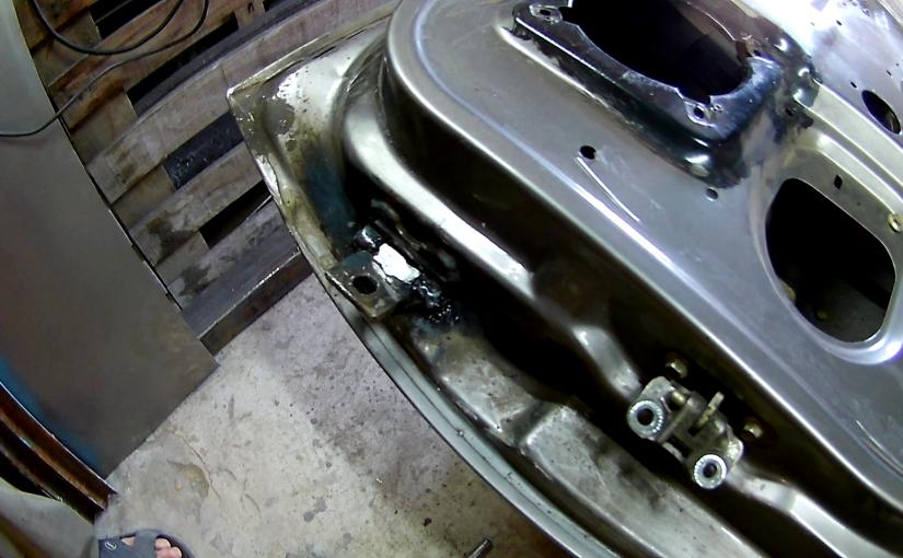 Ремонт (не замена) дверных петель автомобиля своими руками